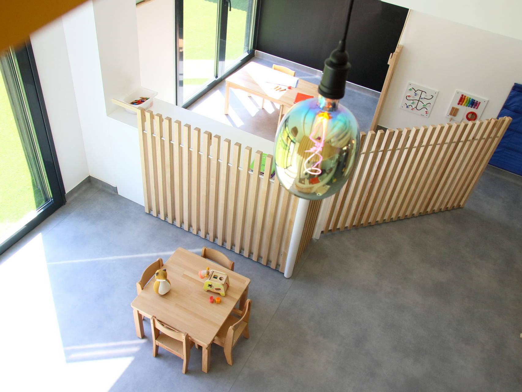 Micro-crèche Les Bons Môme'nts - Metz Queuleu, écoquartier de la Seille - Intérieur